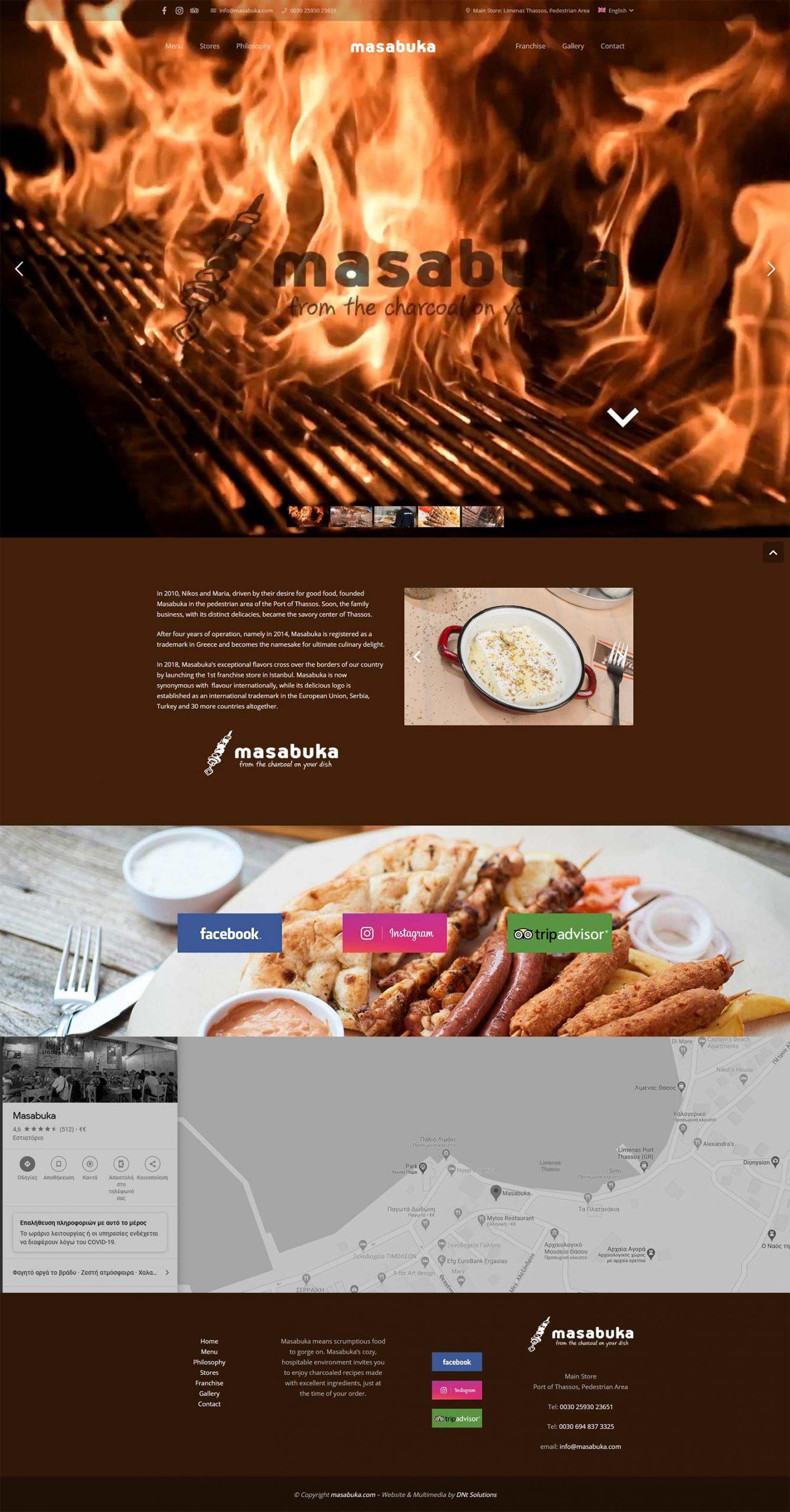 DNt Solutions - Masabuka Website